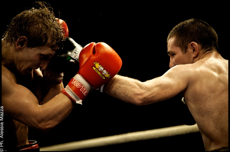 WSB Semi final - William MC LAUGHLIN    VS   Osman ALIYEV