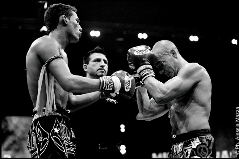 Alessandro Campagna- Profighting Roma wins on points